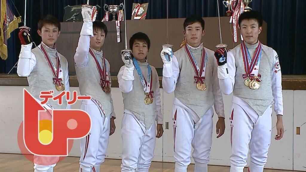 2015年8月OA 大垣南高校フェンシング部