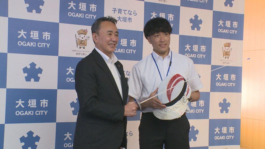 2021年7月23日OA 大垣市長を表敬訪問